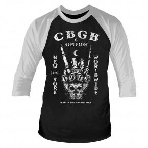 CBGB - Est. 1973 (3/4 Sleeve Baseball Shirt)