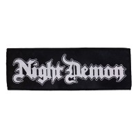 Night Demon - Logo (Superstrip Patch)