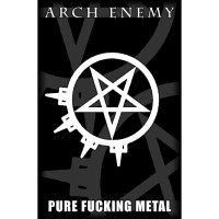 Arch Enemy - Pure Fucking Metal (Textile Poster)