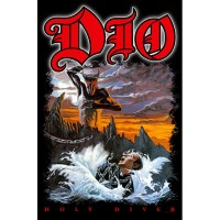 Dio - Holy Diver (Textile Poster)