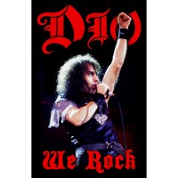 Dio - We Rock (Textile Poster)