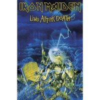 Iron Maiden - Live After Death (Textile Poster)