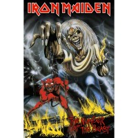 Iron Maiden - Number Of The Beast (Textile Poster)