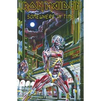 Iron Maiden - Somewhere In Time (Textile Poster)