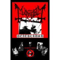 Mayhem - Deathcrush (Textile Poster)