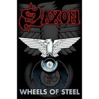 Saxon - Wheels Of Steel (Textile Poster)