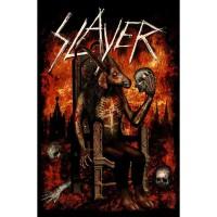 Slayer - Devil On Throne (Textile Poster)