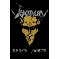 Venom - Black Metal (Textile Poster)