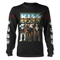 Kiss - Love Gun Chrome (Long Sleeve T-Shirt)