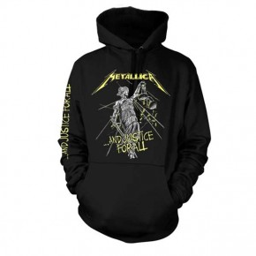 Metallica - And Justice For All Tracks (Hooded Sweatshirt)