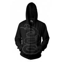 Metallica - Black Album Burnished (Zipped Hooded Sweatshirt)