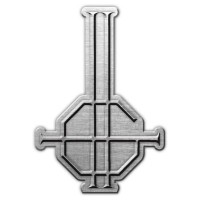 Ghost - Grucifix (Metal Pin Badge)