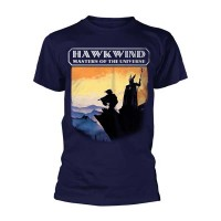 Hawkwind - Masters Of The Universe Navy (T-Shirt)