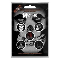 Misfits - Skull (Badge Pack)