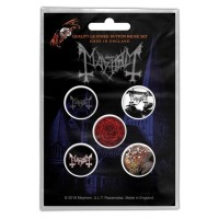 Mayhem - De Mysteriis Dom Sathanas (Badge Pack)
