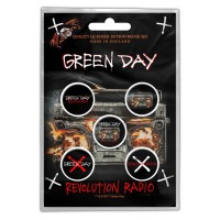 Green Day - Revolution Radio (Badge Pack)