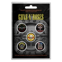 Guns N Roses - Bullet Logo (Badge Pack)