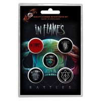 In Flames - Battles (Badge Pack)