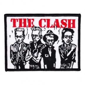 Clash - Caricatures Embroidered (Patch)