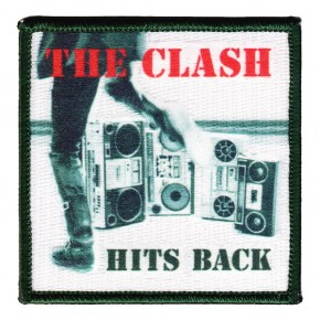 Clash - Hits Back Embroidered (Patch)