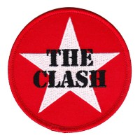 Clash - Red Star Embroidered (Patch)