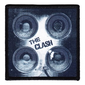 Clash - Speakers Embroidered (Patch)
