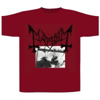 Mayhem - Deathcrush Red (T-Shirt)