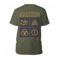 Led Zeppelin - Gold Symbols (T-Shirt)