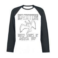 Led Zeppelin - USA 1977 (Long Sleeve Baseball Shirt)