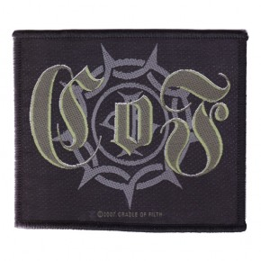 Cradle Of Filth - Gothic Logo (Patch)