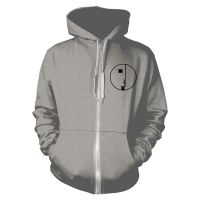 Bauhaus - Logo Grey (Zipped Hooded Sweatshirt)