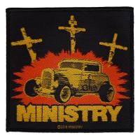 Ministry - Jesus Built My Hotrod (Patch)