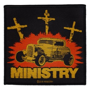 Ministry - Jesus Built My Hotrod (Patch)
