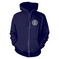 Husker Du - Circle Logo 1 (Zipped Hooded Sweatshirt)