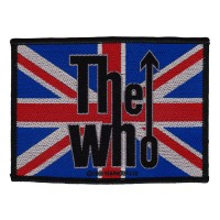Who - Union Flag Logo (Patch)