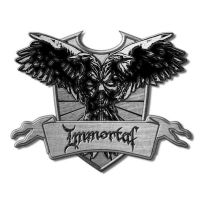 Immortal - Crest (Metal Pin Badge)