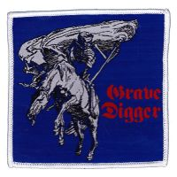 Grave Digger - Skeleton (Patch)