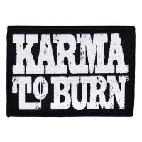Karma To Burn - Logo (Patch)