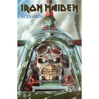 Iron Maiden - Aces High (Textile Poster)