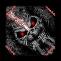Iron Maiden - Eddie Candle Finger (Bandana)