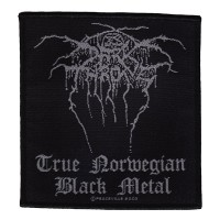 Darkthrone - True Norwegian Black Metal (Patch)