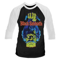 Black Sabbath - Head (Long Sleeve Baseball Shirt)