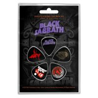 Black Sabbath - Purple Logo (Plectrum Pack)
