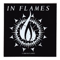In Flames - Flame Logo (Sticker)