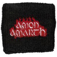 Amon Amarth - Red Flame Logo (Sweatband)