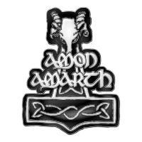 Amon Amarth - Hammer (Metal Pin Badge)