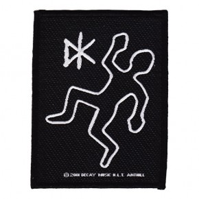 Dead Kennedys - Body Outline (Patch)