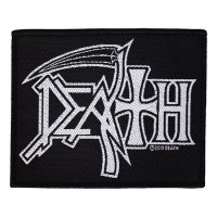 Death - Logo (Patch)
