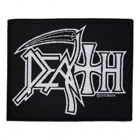 Death - Logo (Patch)