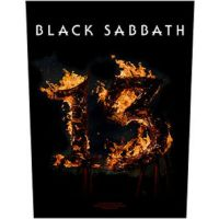 Black Sabbath - 13 Flame (Backpatch)
